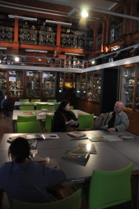 The main space in the Grant Museum