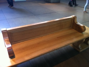 A_bench_in_a_museum