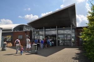 Entrance to IWM Duxford
