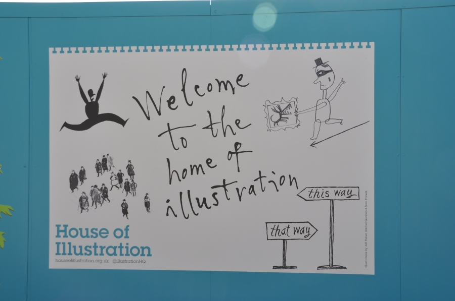 Review – Quentin Blake: Inside Stories at House of Illustration