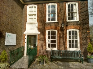 Vestry House Museum entrance