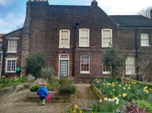 Easter Hunt in Vestry House gardens